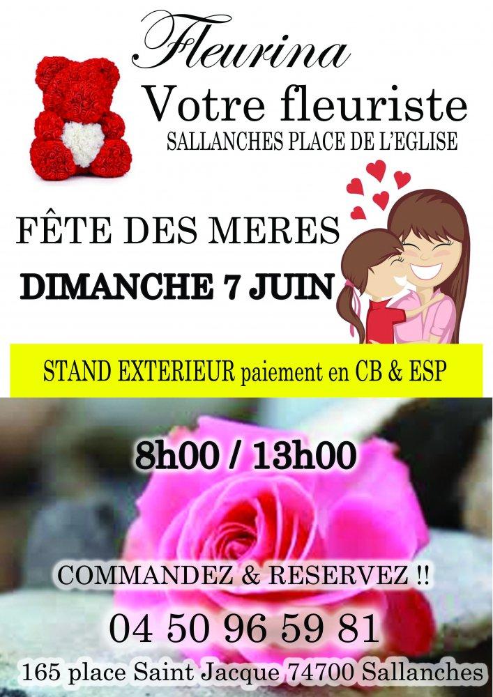 Offrir des fleurs pour fête des mères à Sallanches