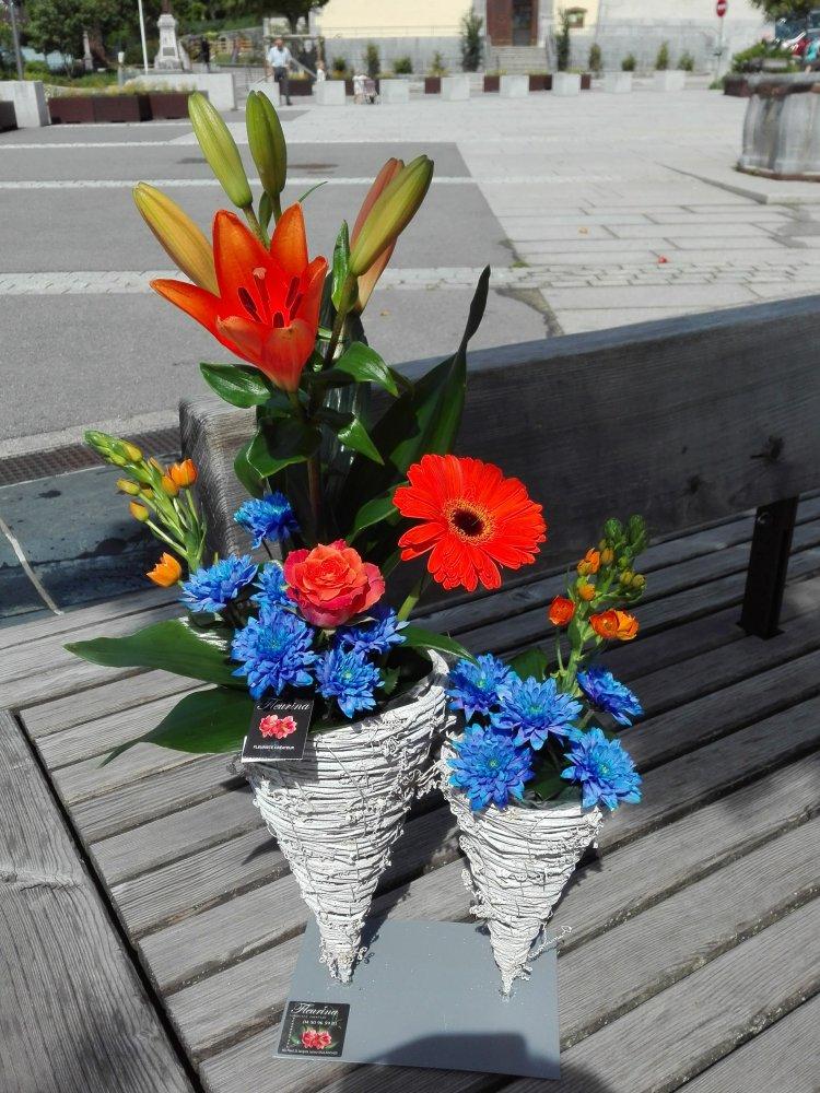 Vente composition florale à Sallanches