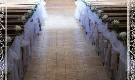 Décoration floral pour Église et Cérémonie Laïque