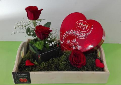 Fleuriste pour bouquet de Saint-Valentin à Sallanches
