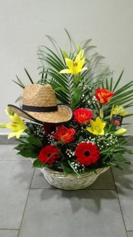 Composition florale Fleurs coupées Personnalisée - Fleuriste à Sallanches
