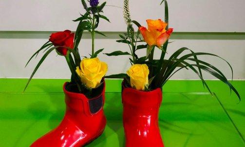 botte floral